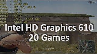 gaming On Intel HD Graphics 610. Pentium G4560, Pentium 4415U, Celeron G3930, Celeron G3950