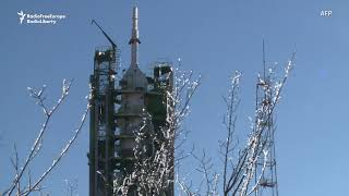 Russian Priest Blesses Soyuz MS-11 Spacecraft
