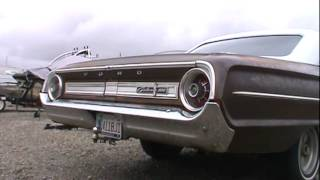 1964 Galaxie cold start and rev w/ cherry bombs