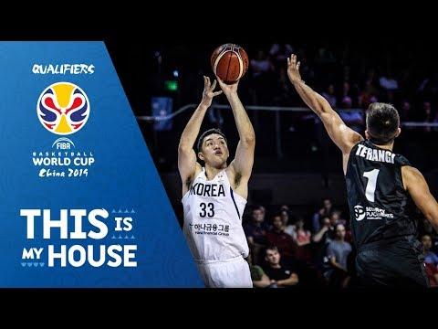 New Zealand v Korea - Full Game - FIBA Basketball World Cup 2019 Asian Qualifiers