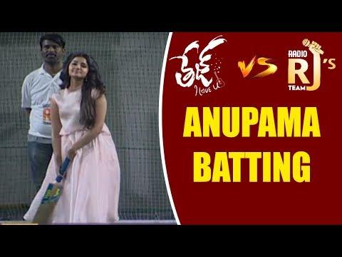 Heroine Anupama  scoring Beautiful Boundries @Tej I Love You vs RJ's Match|| Anupama