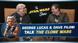 George Lucas and Dave Filoni Talk The Clone Wars, Plus Anthony Daniels Stops By!