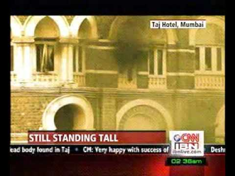 Mumbai Terror Attacks - Taj hotel after attack Travel Video
