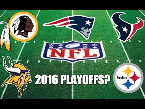 5 NFL Playoff Teams from 2015 that'll Most Likely MISS OUT in 2016