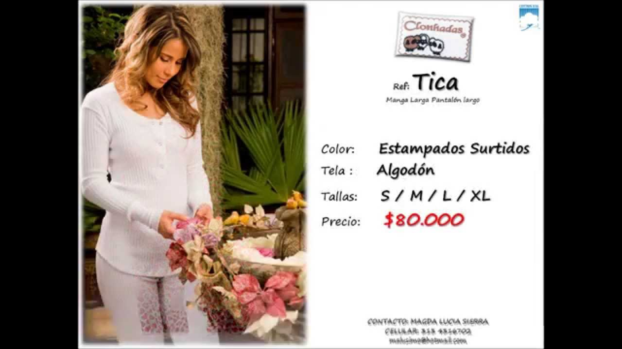 Clonhadas catalogo pijamas en promoci n youtube for Catalogo bricoman elmas 2017