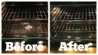 HOW TO CLEAN YOUR OVEN: BAKING SODA & VINEGAR