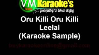 Oru Kili Oru Kili Karaoke Sample Leelai