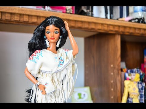 Native American Barbie Unboxing Y Review