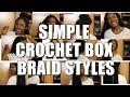 Crochet Box Braids Styled to My Favorite Afro Beats