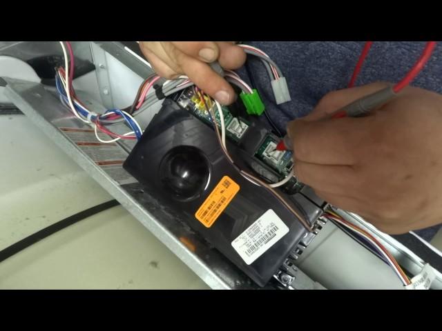 Diagnose E61, E63, E64 Error Codes - Frigidaire Affinity Dryer