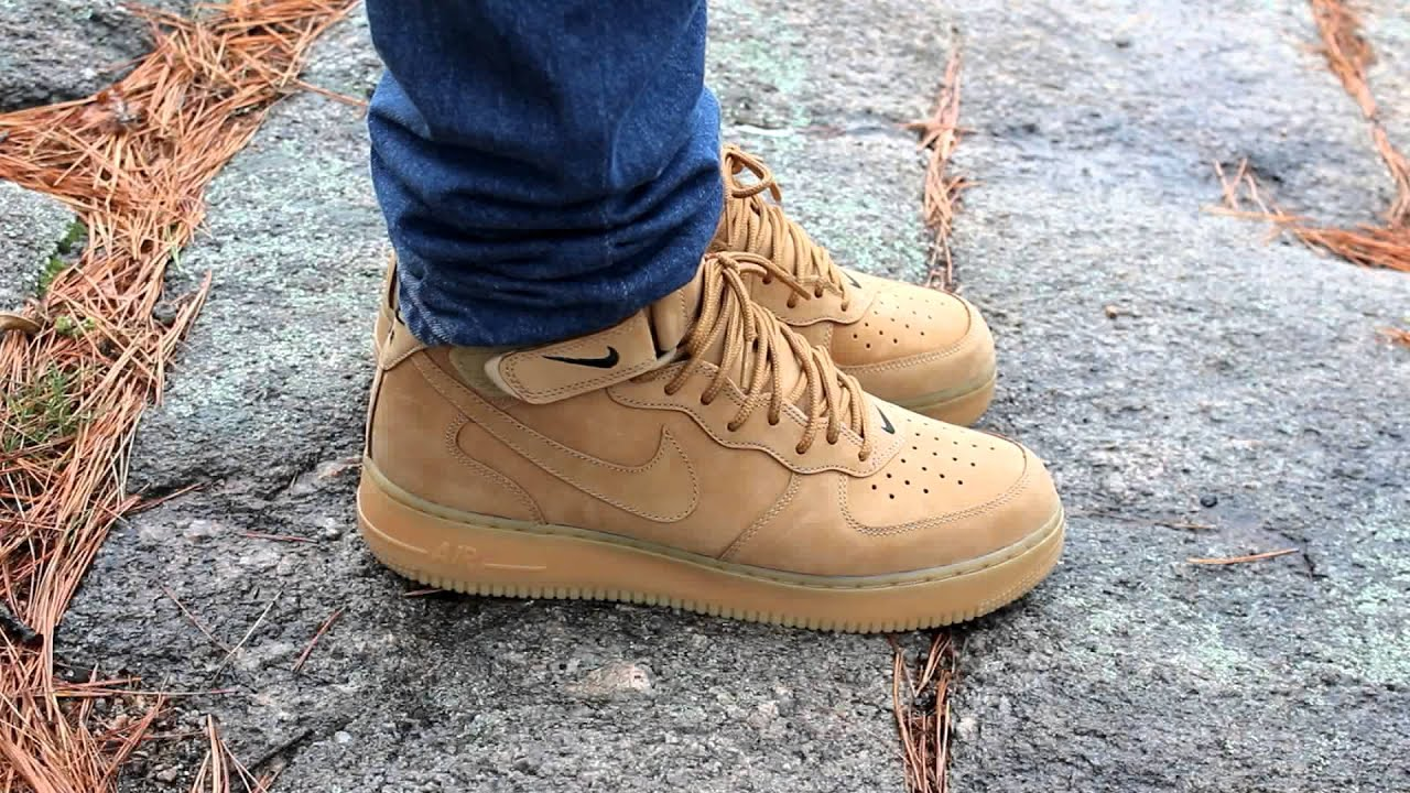 HOW TO STYLE AIR FORCE 1 WHEAT by Strictly4Kickz
