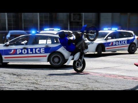 GTA 5 FRANCE - LES POLICIERS VEULENT MA PEAU CAVALE - STREETZER #9