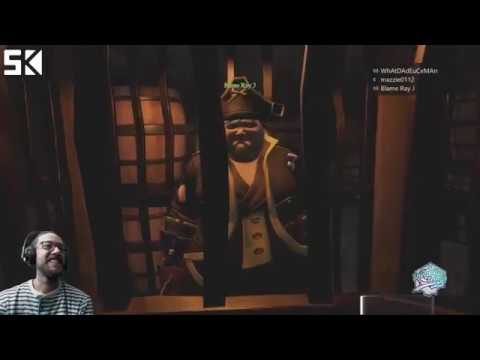 Being Pirates with my Wife, Ray J and Maz in #seaofthieves! | !discord | #letskickit