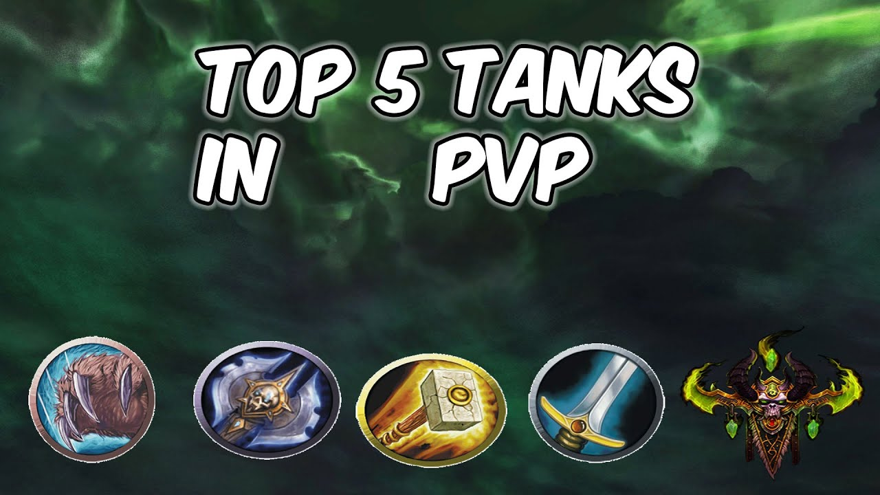 Top 5 Tanks In Pvp Wow Bfa 8 2 5 Youtube