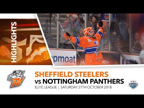 Sheffield Steelers v Nottingham Panthers - EIHL - 27th Octob
