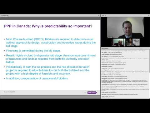 PPP Frameworks and Guidelines in Canada