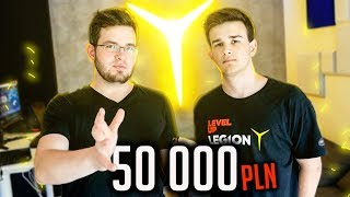 WYGRAŁ GAMING ROOM ZA 50K!