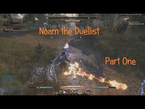 The Elder Scrolls Online - Noam the Duellist (Part One)  