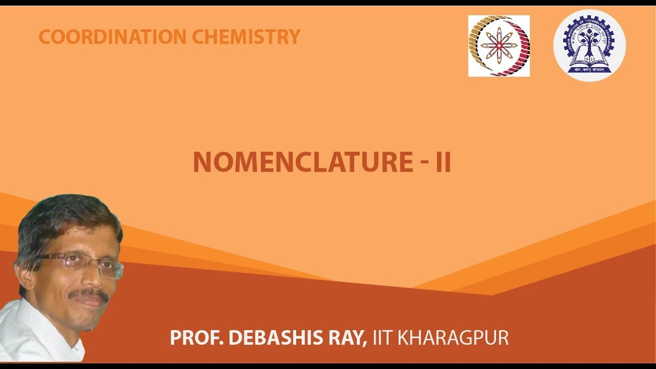 Nomenclature - II