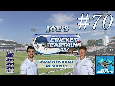 Cricket Captain 2017 | Road To World Number 1 (England) | E70: THIS ONE'S FOR YOU JIMMY!
