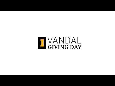 Vandal Giving Day 2018 | Vandal Scholarship Fund | Kelly Dopke