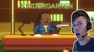 THE PRINCIPAL JUST SHOT ME!?!? - Kindergarten part 2