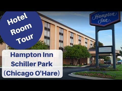 ROOM TOUR Hampton Inn Schiller Park (Chicago)  IL