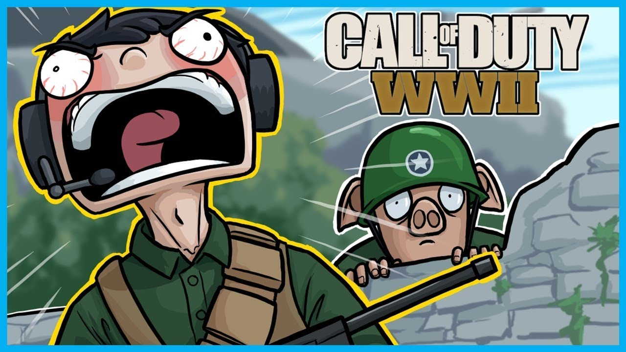 Call of Duty: World War II Funny Moments! - Extreme Nogla
