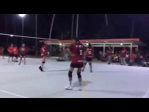 Marshall Islands Women's Volleyball Arkansas vs Ebon final
