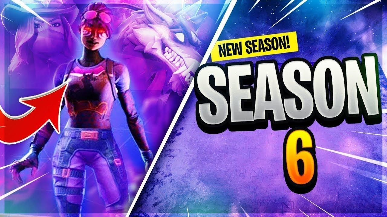 All Season 6 Tiers Tier 100 Skin All Emotes Battle Pass Fortnite