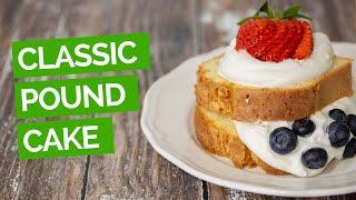 Classic Pound Cake Recipe