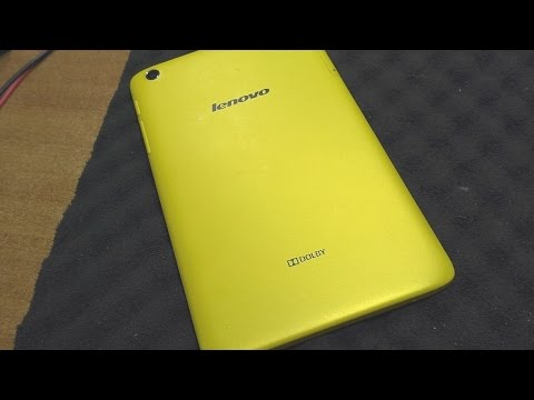 Ребёнок облизал планшет Lenovo A5500-H