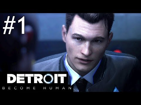 Detroit: Become Human Part 1 Gameplay Walkthrough PS4 Pro Livestream