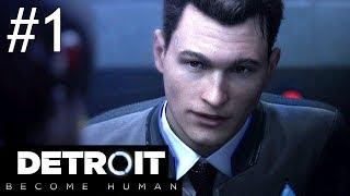 Detroit: Become Human Part 1 Gameplay Walkthrough PS4 Pro Livestream