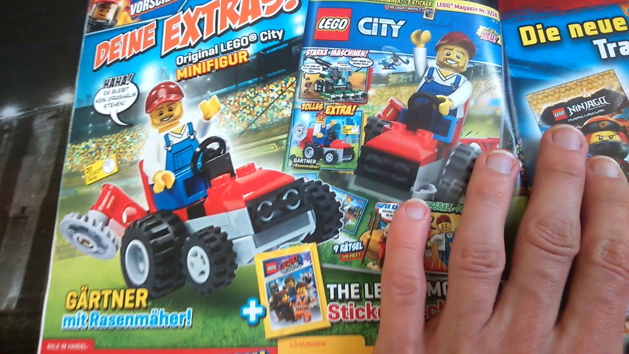 Magazyny Lego City 22019 Rok Youtube