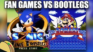 Rom Hacks vs Bootlegs vs Fan Games: What's the difference?