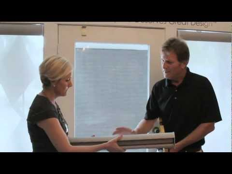 KK How To: Kerrie Kelly Shows How to Install a Hunter Douglas Roller Shade