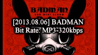 BADMAN - B.A.P + Mini-Album Download