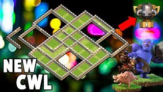 NEW Clan War Leagues TH11 WAR BASE With New Design Anti 3 Star | Clash of Clans