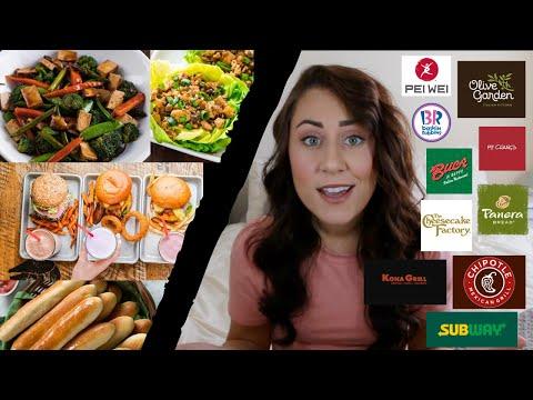 40 CHAIN RESTAURANTS with VEGAN options! (on the menu!)