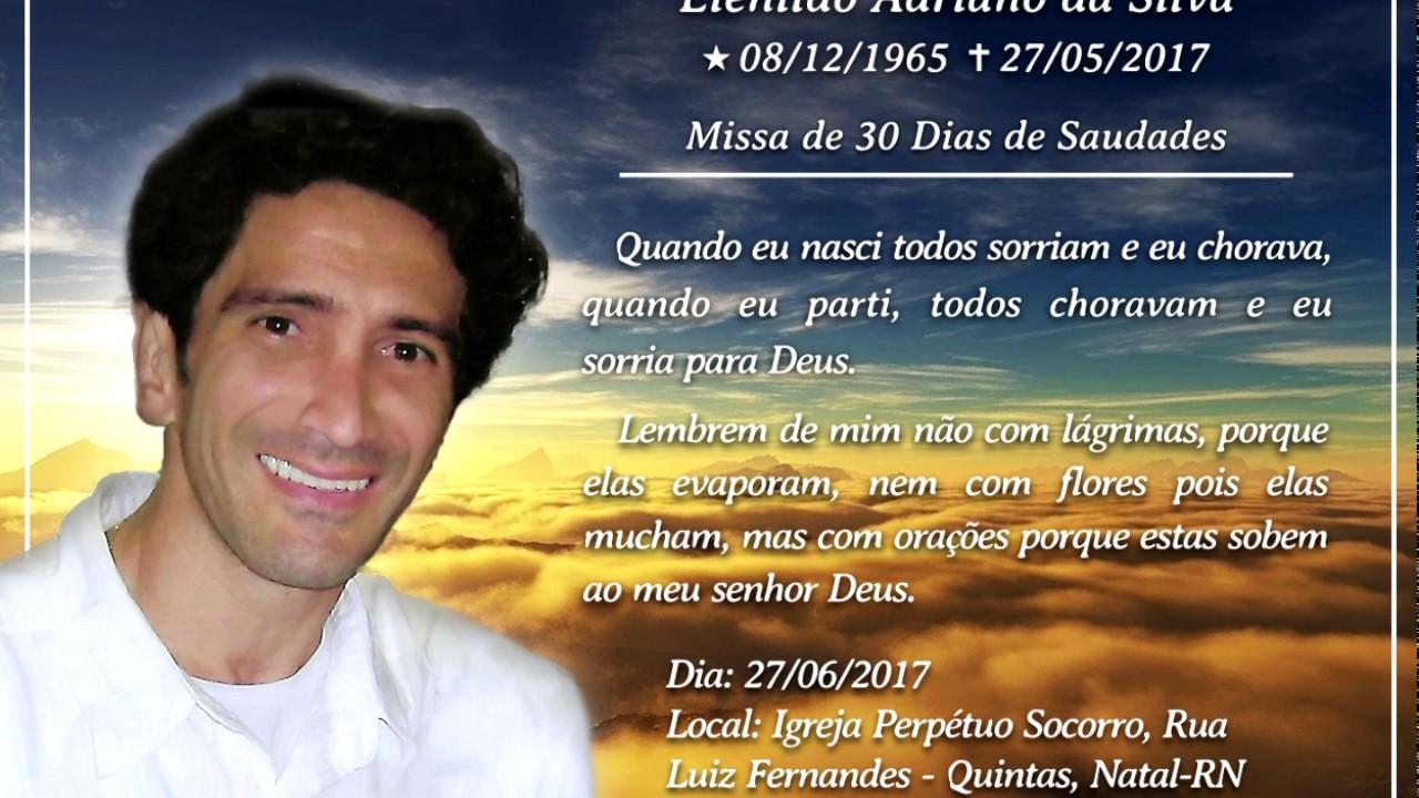 Convite Missa 30dias Youtube