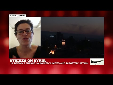 Syria strikes: Update from Beirut, Lebanon