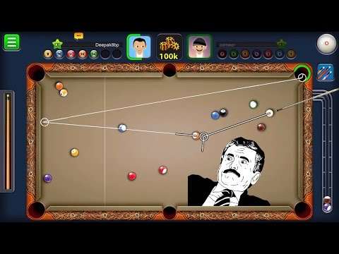 8 Ball Pool 50k Bo3 Jakarta Volcano Total Indirect Shots Vs Mark Clan (Youtuber)
