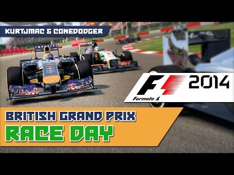 Shades of Orange - F1 2014 w/ ConeDodger - British GP RACE