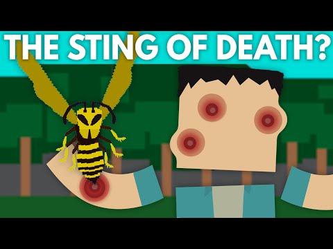 This Strange Sting Dissolves Your Skin