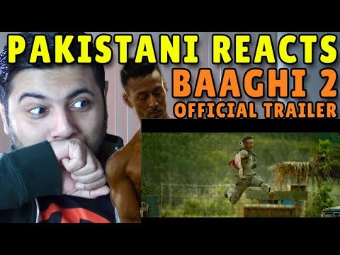 Pakistani Reacts to BAAGHI 2 | Trailer Reaction | Watching FLAMES Timeliners?
