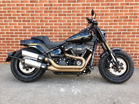 2018 Harley Davidson Softail Fatbob. 655 miles. #24904