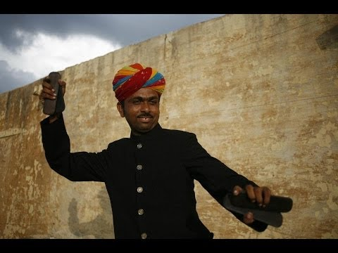 Rajasthani Gypsy Carvan Tour ~ Kartal (Castanates) Workshop ~
