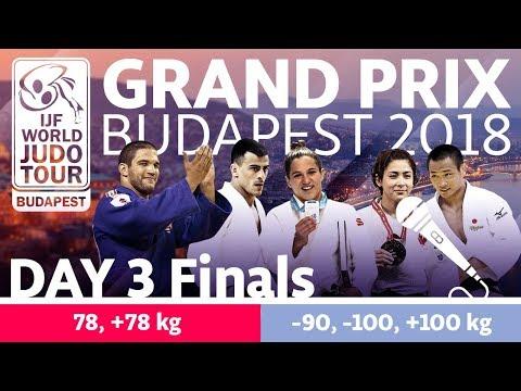 Judo Grand-Prix Budapest 2018: Day 3 - Final Block