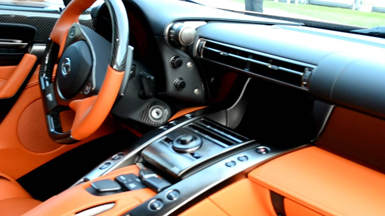 2012 Lexus LFA Interior Details HD   YouTube